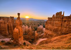 View across Bryce Canyon National Park
