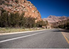 A road in South Africa's Easter Cape