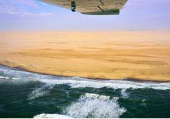 Skeleton Coast flight
