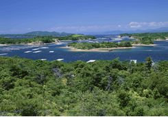 View across Ago Bay from Amanemu