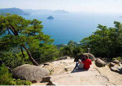 Miyajima mountain view
