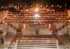 Rawla Narlai step well dinner