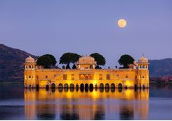 Jaipur floating palace