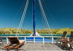 Liveaboard decking boat