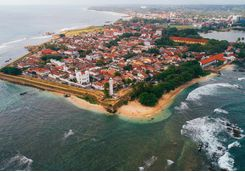 Galle from above