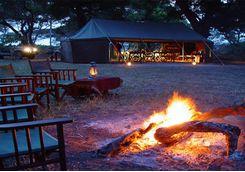 Chada katavi Campfire dinner