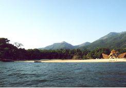 Lodge on Mahale beach
