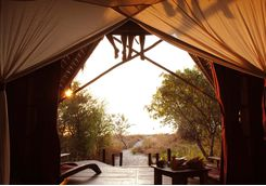 Tent with a view in Mahale