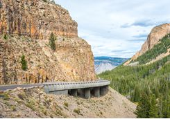 Yellowstone National Park Road