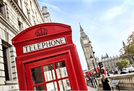 An image of red phone box with Big Ben in the background