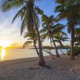 Beach Hammock in Fiji