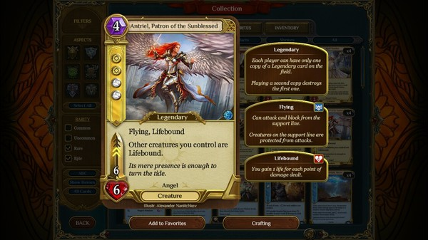Screenshot Spellweaver Gold Pack