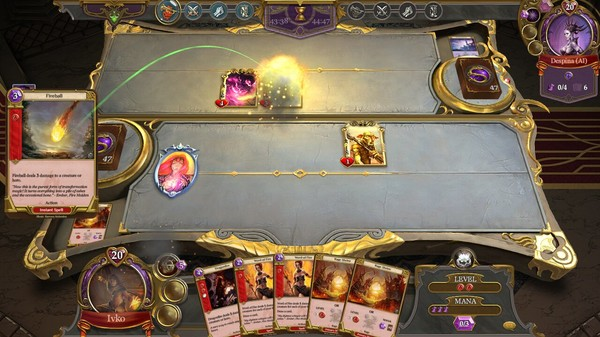 Screenshot Spellweaver Wrath of Shamans Card Deck