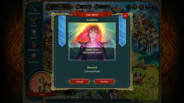 Screenshot Spellweaver Wrath of Shamans Card Deck