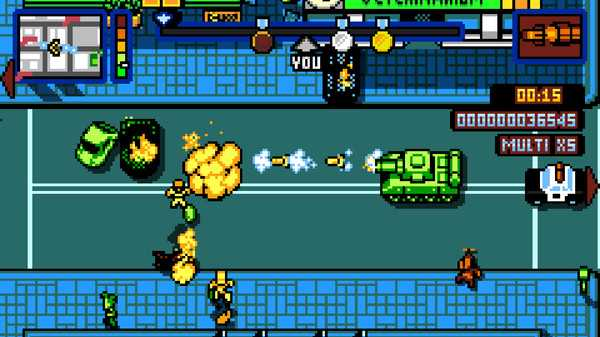 Screenshot Retro City Rampage™ DX