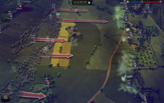 Screenshot Ultimate General: Gettysburg