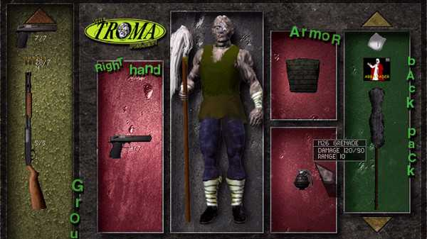 Screenshot The Troma Project