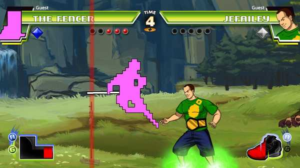 Screenshot Divekick