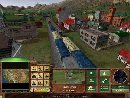 Screenshot Railroad Tycoon 3