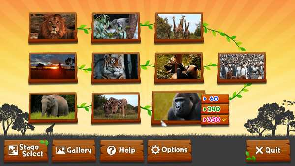 Screenshot Wild Animals - Animated Jigsaws