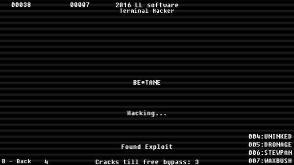 Screenshot Terminal Hacker - Payload DLC
