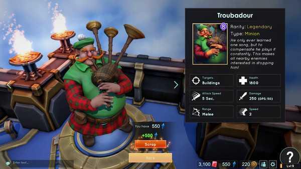 Screenshot Minion Masters