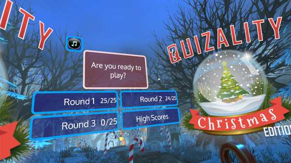 Screenshot Quizality - Christmas!