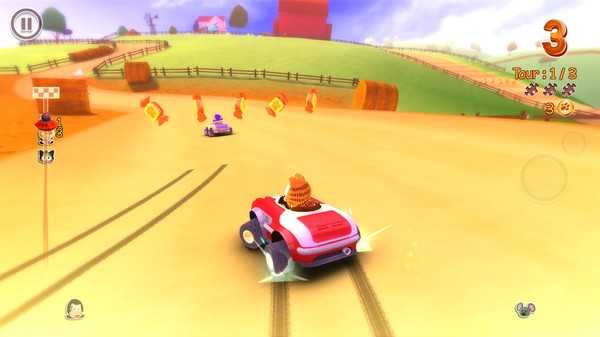 Screenshot Garfield Kart