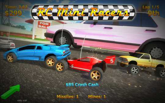 Screenshot RC Mini Racers