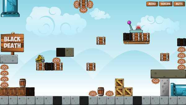 Screenshot Jumping Tank