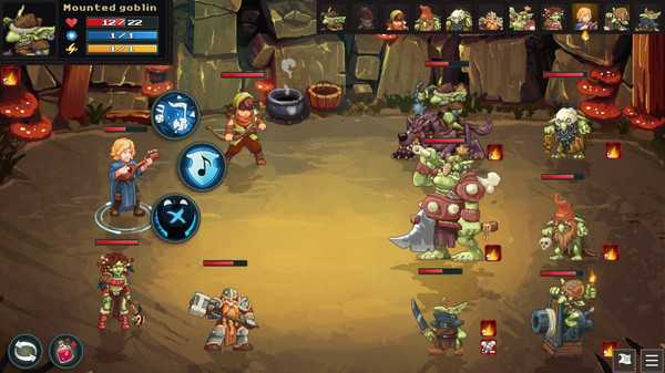 Screenshot Dungeon Rushers