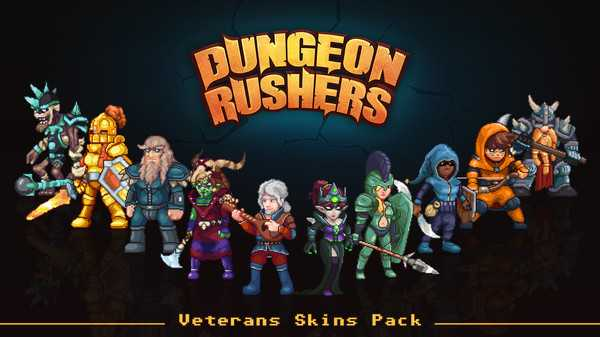 Screenshot Dungeon Rushers - Veterans Skins Pack