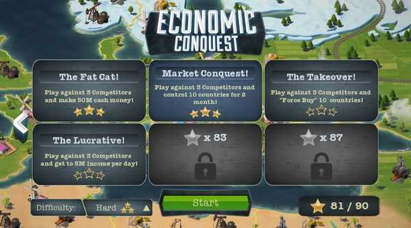 Screenshot Economic Conquest