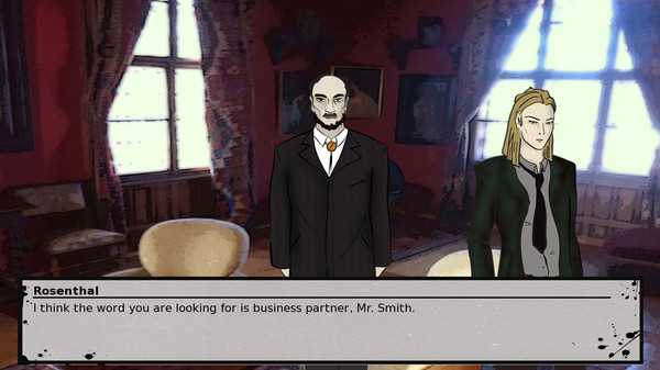 Screenshot A Detective's Novel