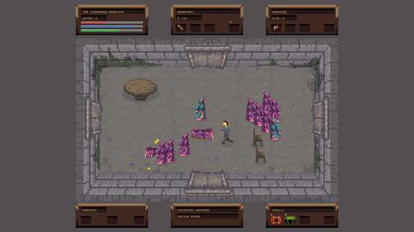 Screenshot No Turning Back: The Pixel Art Action-Adventure Roguelike