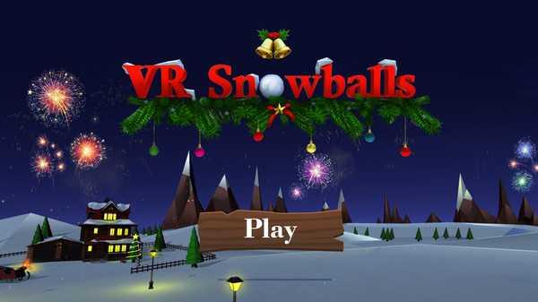 Screenshot VR Snowballs