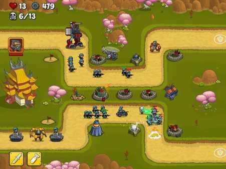 Screenshot Island Defense