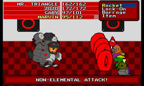 Screenshot Mr. Triangle's Adventure