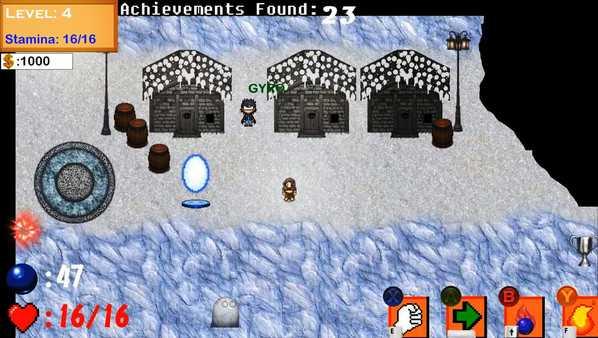 Screenshot The Quest for Achievements