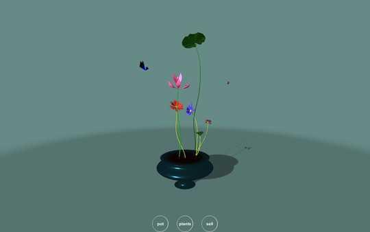Screenshot Flower Design