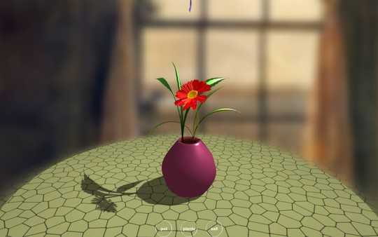 Screenshot Flower Design
