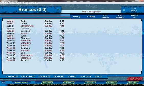 Screenshot Football Mogul 15