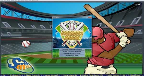 Screenshot Baseball Mogul 2015