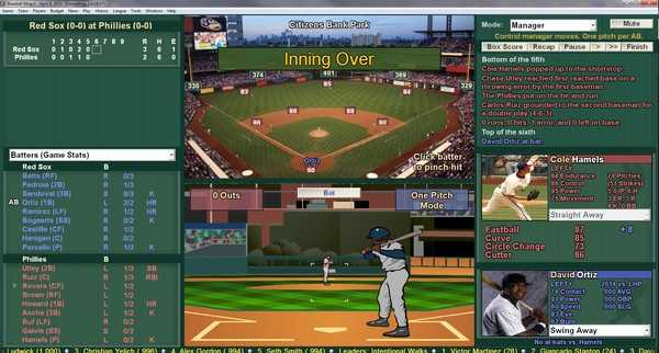 Screenshot Baseball Mogul Diamond