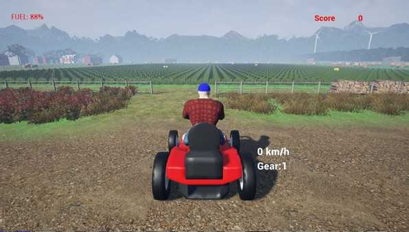 Screenshot Lawnmower Game