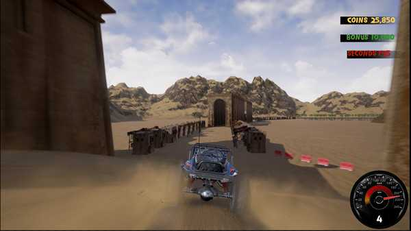 Screenshot Crazy Buggy Racing