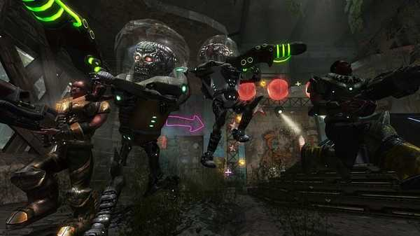 Screenshot Alien Arena: Warriors Of Mars