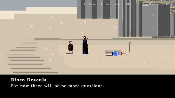 Screenshot M1: A Death in the Desert