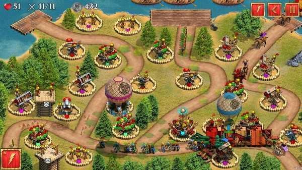 Screenshot Defense of Roman Britain