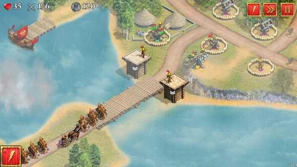 Screenshot Defense of Roman Britain